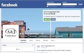 A & J Carpenters - Facebook screenshot