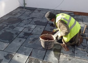 Dukes in Sidmouth - Paving Project